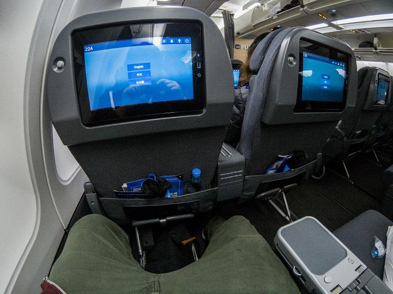 SAS Plus Premium Economy Seat