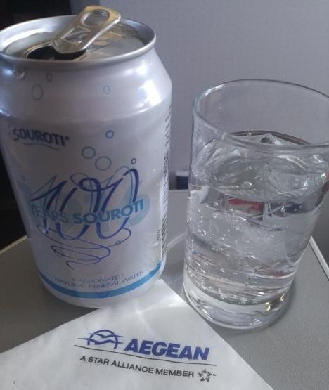 Aegean Soda Pre-departure drink
