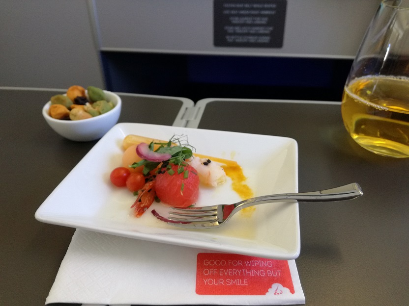 Apero snack A330 SN Business Class