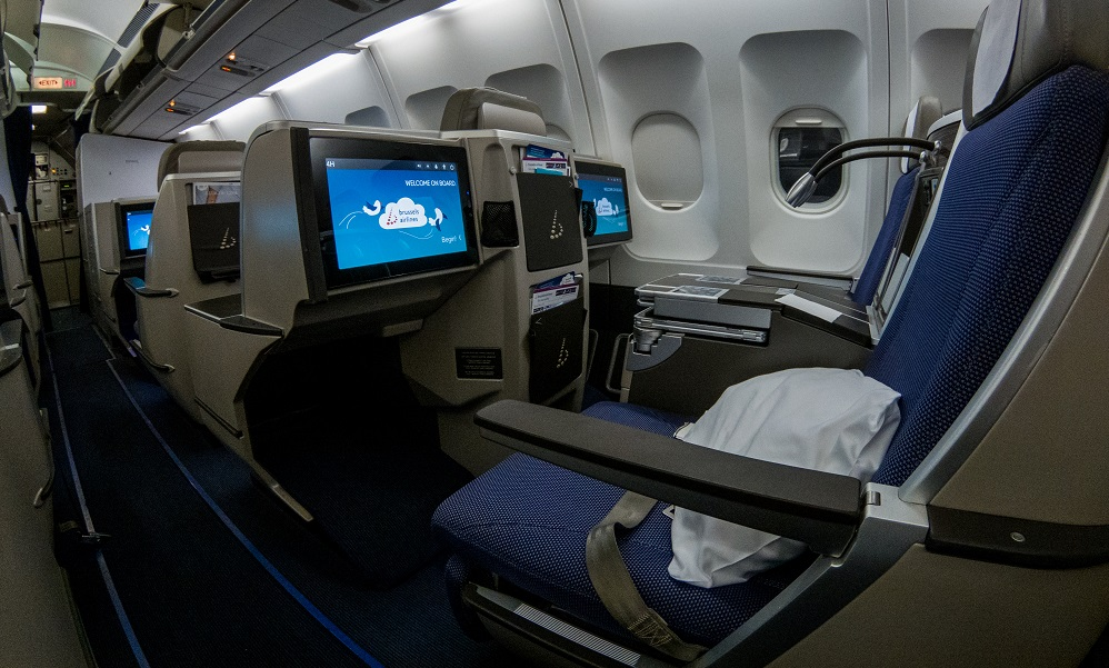 Brussels Airlines Business class A330 Seats