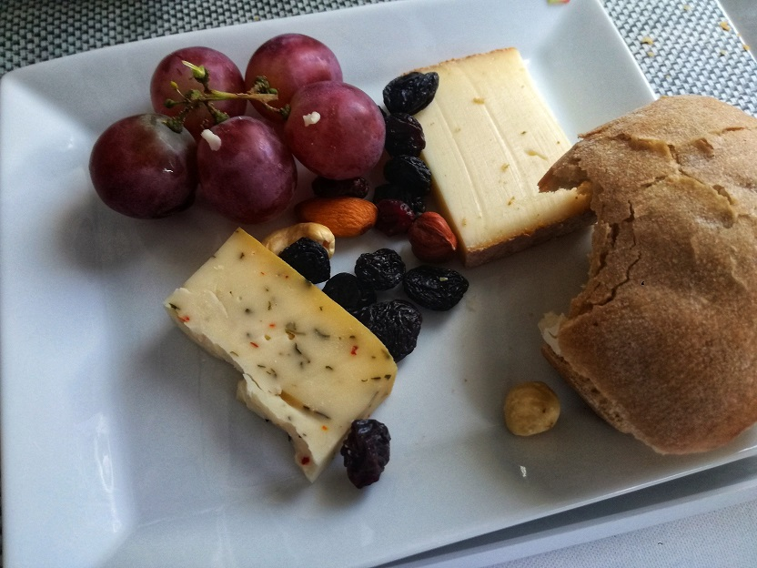 Cheese Plate SN A330 Business Class