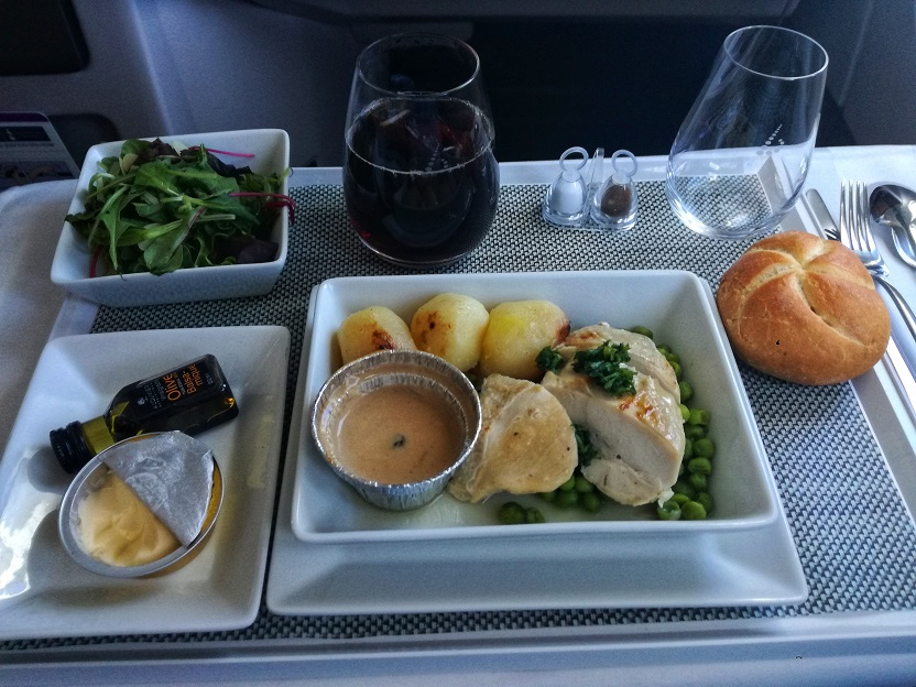 Main Course SN A330 Business Class