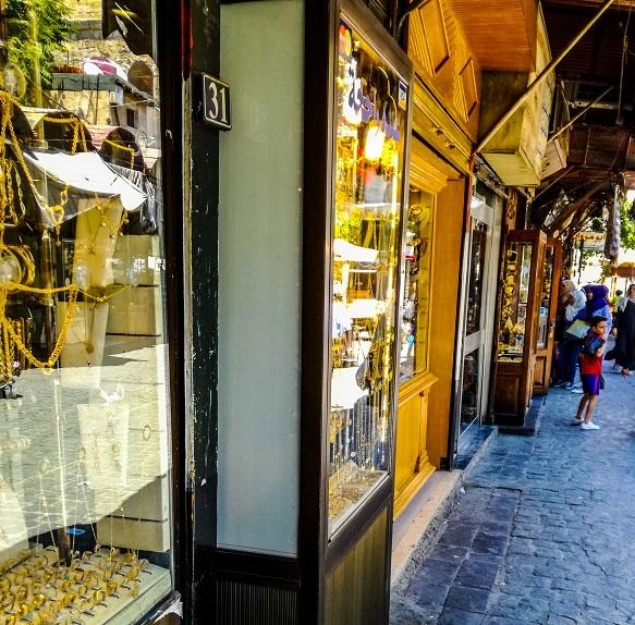 Gold Souk Damascus Syria