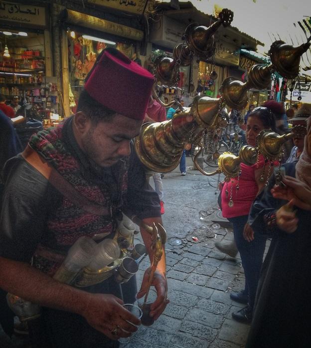 Damascus Souk Tamarind drink Syria
