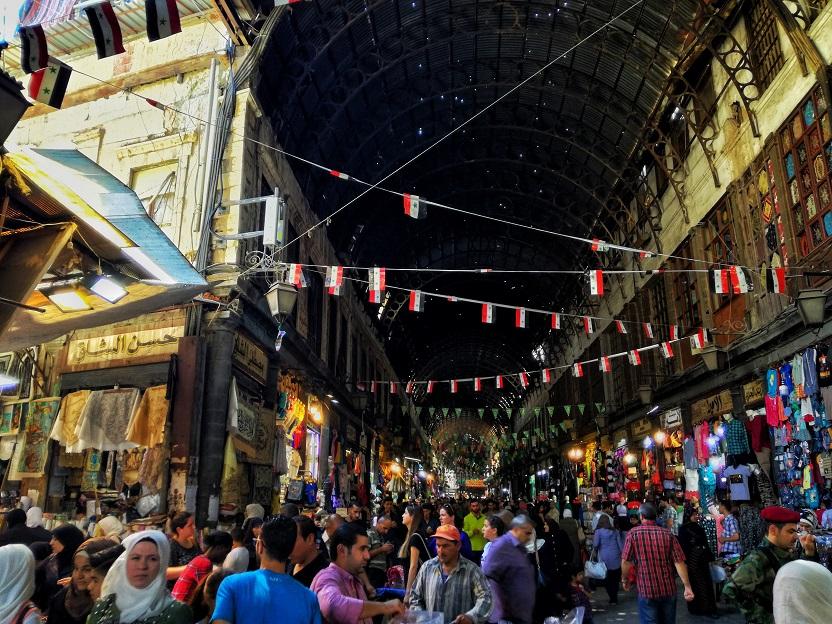 Damascus Souk Syria