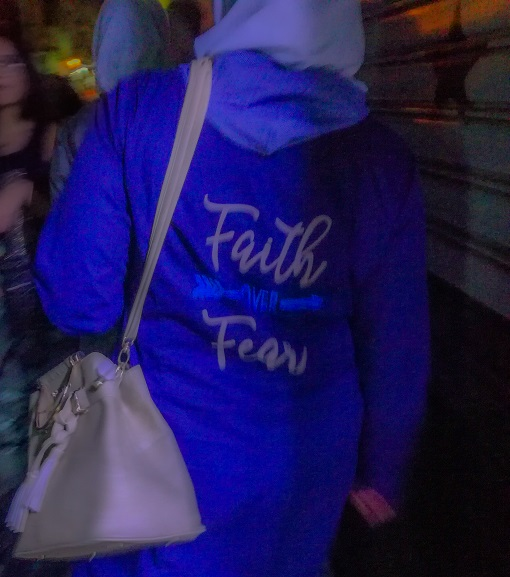 Faith over Fear Damascus