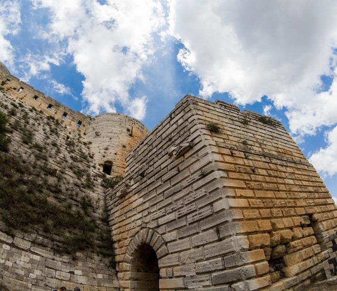 Krak Des Chevaliers Syria Castle