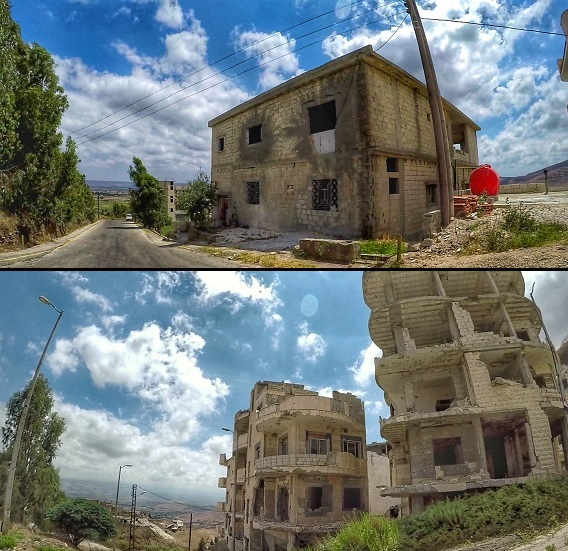 Krak Village Destruction Syria
