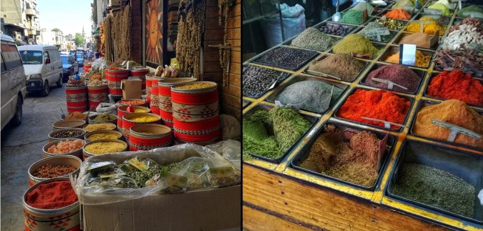 Spice souk Damascus
