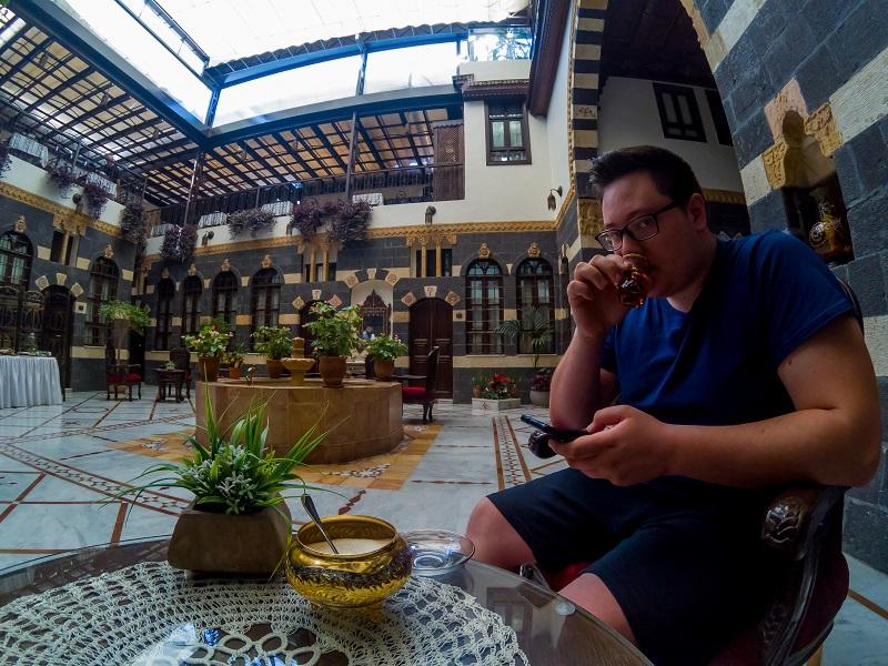 Teatime Beit Al Wali Hotel