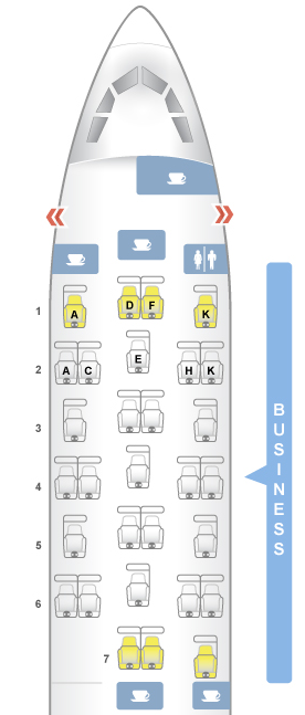 throne seats brussels airlines a330