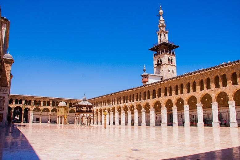 Umayyad mosque Damascus Syria