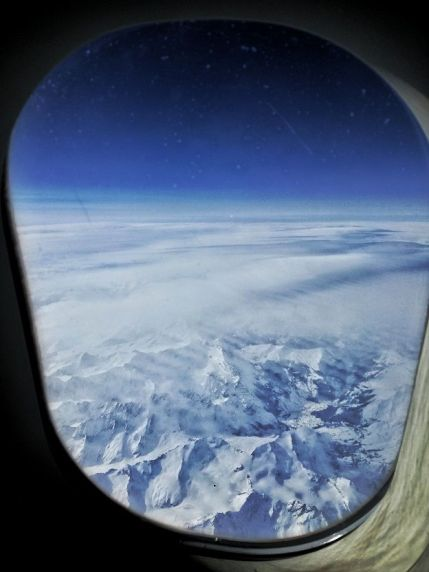Alitalia Alps View