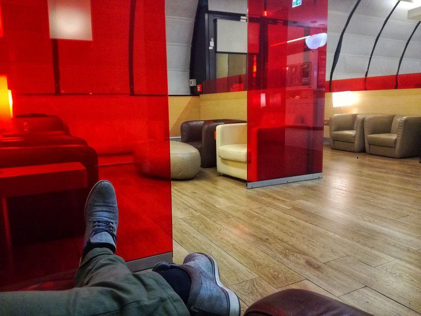 Alitalia E Gates Lounge FCO Rome Airport (2)