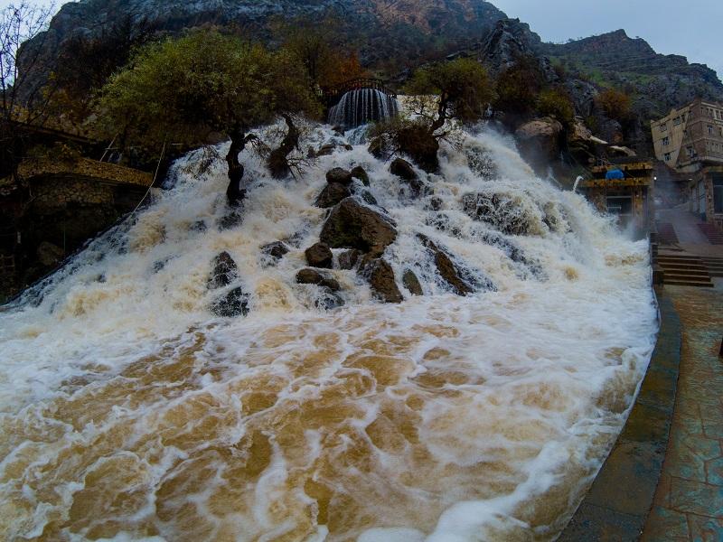 Bekhal Waterfall Kurdistan