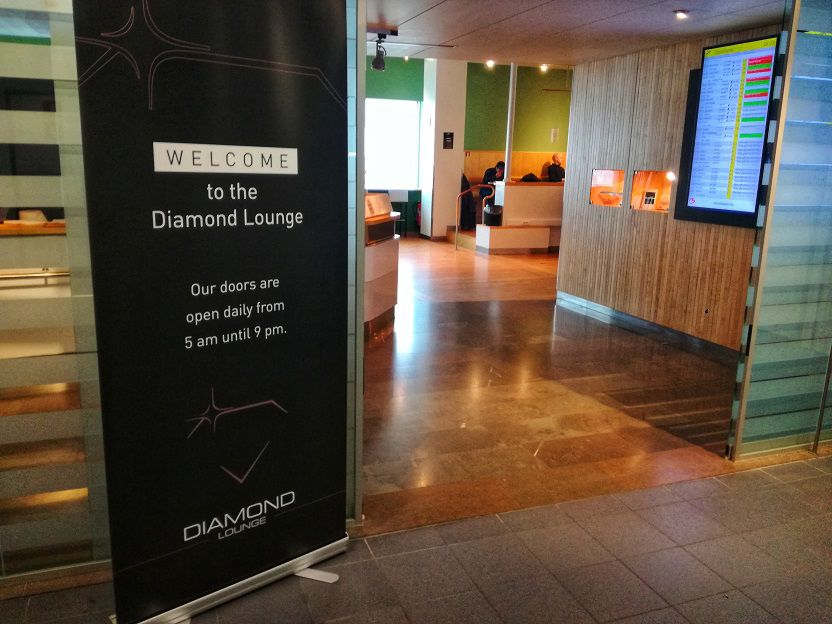 Diamond Lounge Brussels Airport Entrance