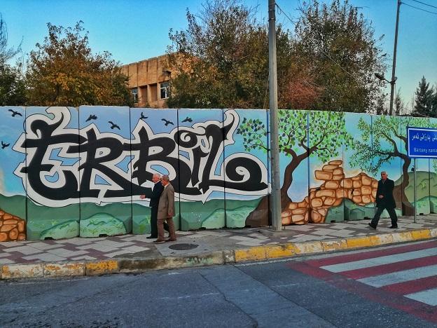 Erbil Grafitti