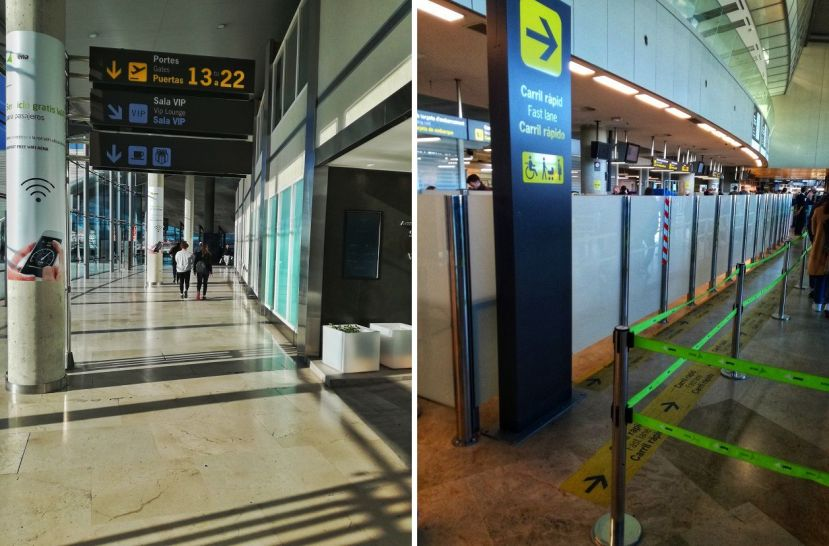 Fast Lane VIP Lounge Entrance Valencia Airport VLC