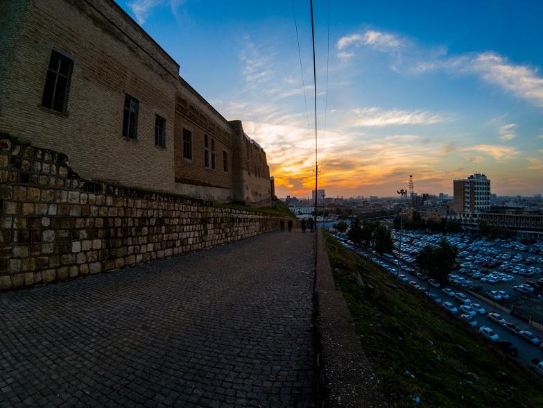 Citadel Erbil Sunset